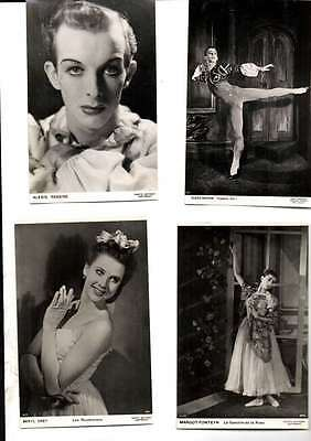 Job Lot 12 Different Photos Various Artists From Various Ballets Vg/cond L1