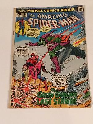 Amazing Spider-man #122 Death Gwen Stacy 1970's GD Marvel Comics
