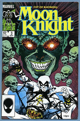 Moon Knight #3 1985 Marvel Comics