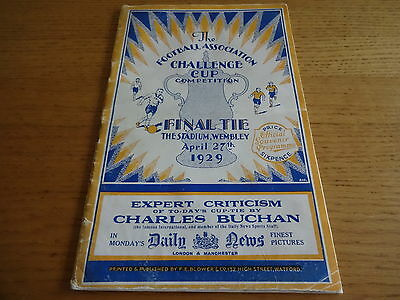 1929 Fa Cup Final  -  Bolton Wanderers  v  Portsmouth
