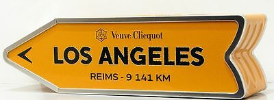 Veuve Clicquot 2016 LOS ANGELES Arrow Collection Limited Edition Champagne Box !