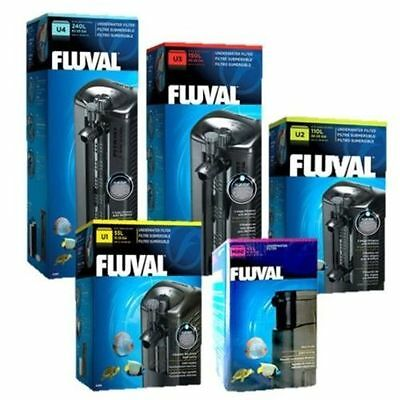 New Fluval Mini U1 U2 U3 U4 Internal Power Filter For Aquarium Fish Tank Pump