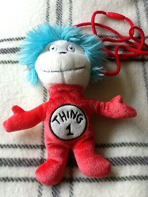 Dr Seuss Thing 1 and Thing 2 purse, stocking filler!