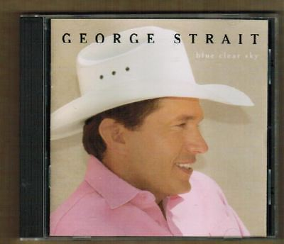 GEORGE STRAIT Blue Clear Sky CD 1996 Contemporary Country