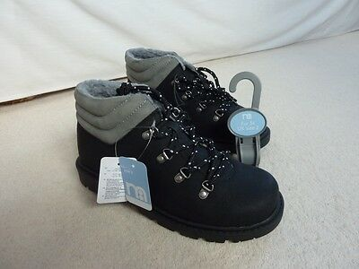 Mothercare Childrens Hiker Boot - Black - size 2