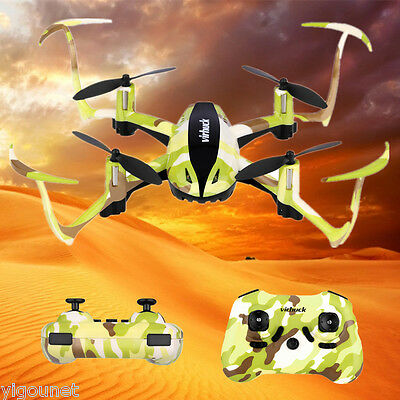 Virhuck RC Drone 2.4GHz 4CH 6AXIS GYRO UFO RC Hélicoptère Quadcopter Helicopter