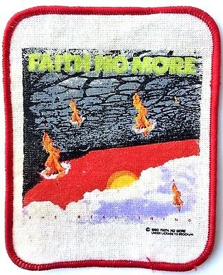 Faith No More Patch Embroidered Patch ORIGINAL from 1990