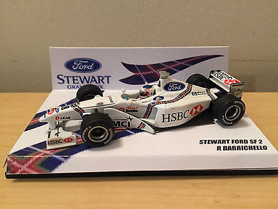 Non Minichamps 1/43 Hot Wheels Stewart Ford SF2 R Barrichello 1998