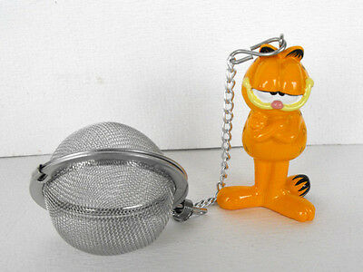 RARE GARFIELD Resin / Metal TeeFilter MINT in box 1999 FRANCE RETIRED
