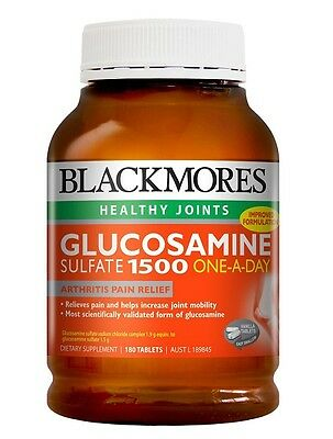 Blackmores-Glucosamine Sulfate 1500 One-A-Day 180 Tablets