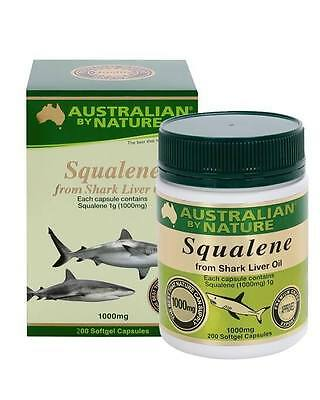 Australian by Nature-Squalene 1000mg 200 Capsules