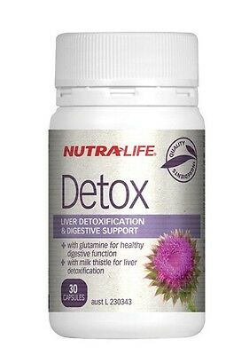Nutralife-Comprehensive Liver Detox & Digestive Support 30 Capsules