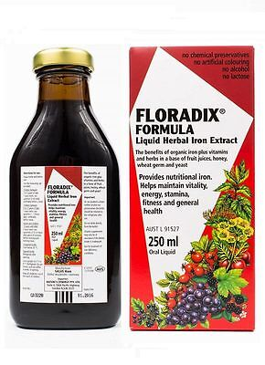 Floradix-Iron Liquid Herbal Extract 250ml