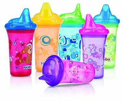 Nuby ID10018 – Glasses Drawings, Hard Spout