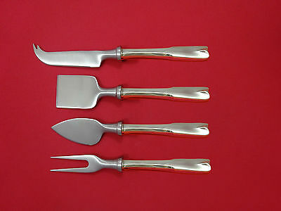 Colonial Theme by Lunt Sterling Silver Cheese Serving Set 4 Piece HHWS  Custom