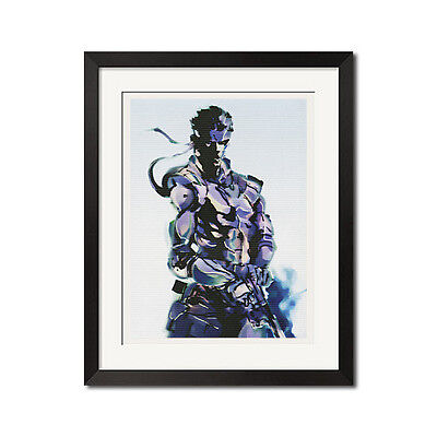 Metal Gear Solid Snake The Legendary Soldier Poster Print
