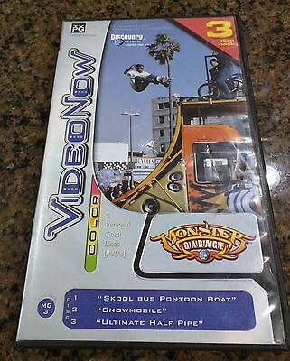 VIdeo Now Monster Garage 2 PVD DIscs for Video Now in Case   FREE SHIPPING!!