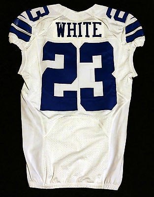 #23 Corey White Authentic Team Issued Nike Jersey of the Dallas Cowboys