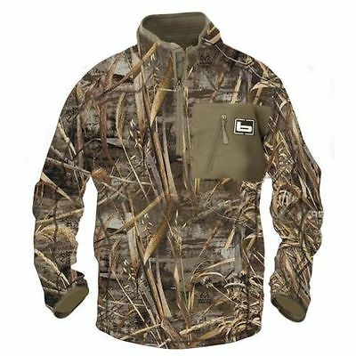 NWT Banded Gear 1/4 Zip Mid Layer Pullover Jacket Realtree Max 5 All Sizes