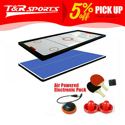 8FT Air Hockey/Ping Pong/Table Tennis/Dinning Top Pool Billiard Table Free Post