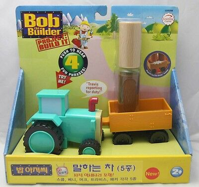 Bob The Builder Project Build It: Talking Travis with Leg Click Bricks (LC65208)