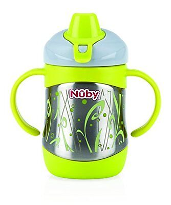 Nuby ID10260 Insulated Stainless Steel Cup with Spout 220 ml