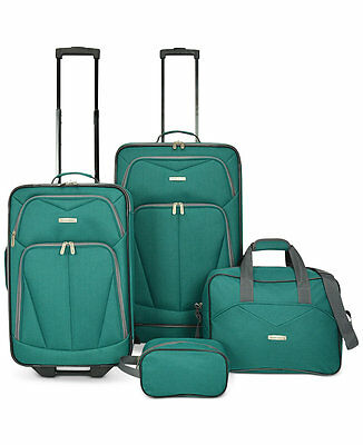 Travel Select Kingsway 4 Four Piece Luggage Set Suitcase New Tags