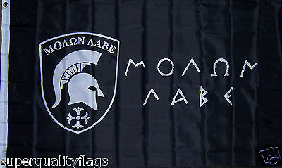 NEW 3x5 ft MOLON LABE SPARTAN 300 COME AND TAKE IT GREEK FLAG