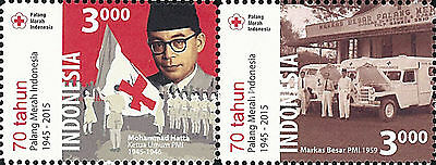 Indonesia Stamp, 2015 IND1512 Indonesian Red Cross, Organizations