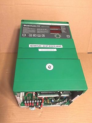Quantum Iii Dc Drive Control Techniques  30 Hp 9500-8603 M75R-14Icd Fully Tested