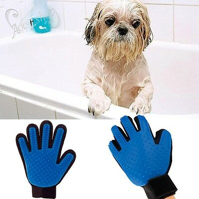 Deshedding Cleaning Magic Brush Glove Cat Dog Hair Pet Massage Groomer Grooming