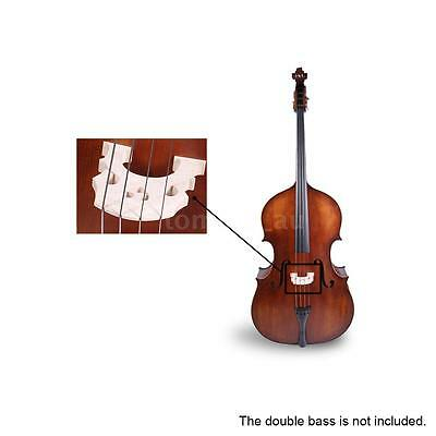Fit for 3/4 Regulated Double Bass Contrabass Bridge Maple Sturdy X9E1