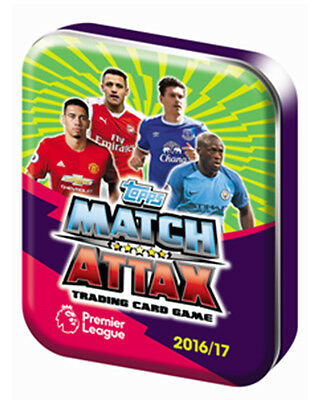 2016/2017 Topps Match Attax Mini Collector Tin