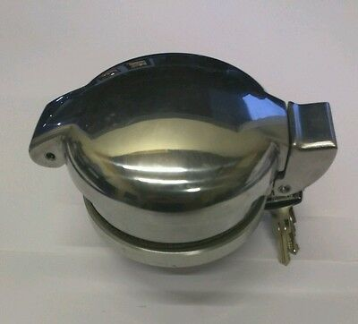 Dax 427 polished alloy monza/aston petrol cap 3""
