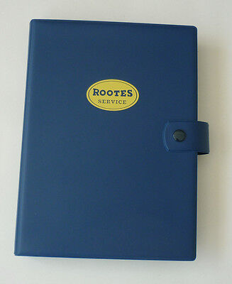 Sunbeam Tiger Rootes Group service record book & wallet ideal present