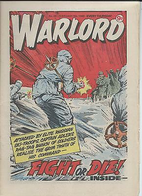 Warlord Comic number 281 , February 9th  1980