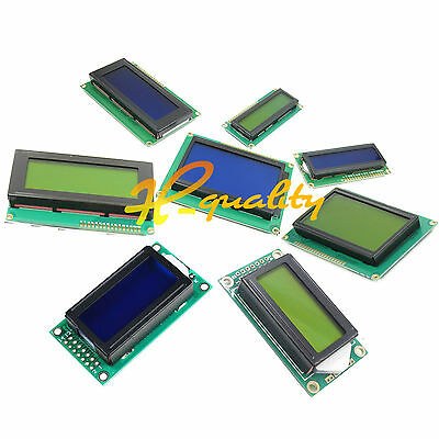 Character LCD Display Module 0802 1602 2004 12864 LCM blue blacklight