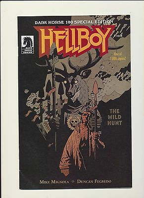 Hellboy The Wild Hunt DH 100 Special Edition 1:1000 Variant Cover EXTREMELY RARE
