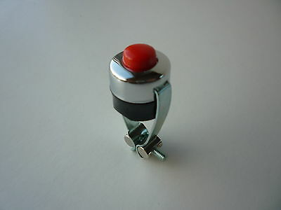 Vintage Classic Motorcycle Moped Motorbike Kill Switch / Horn Push Button Horn
