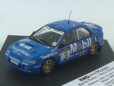 BERTIE  FISHER SUBARU KILLARNEY RALLY OF THE LAKE 1994  1/43 KMD Models Limited