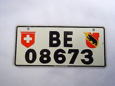 SWITZERLAND Wheaties Cereal License Plate #BE 08673