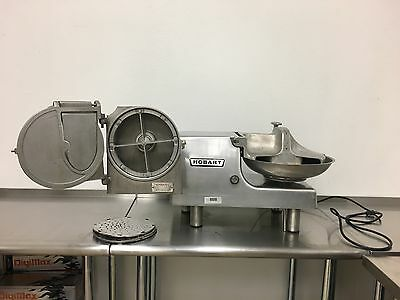 Hobart 84145-1 Electric Chopper Food Processor with #12 hub + Cheese Grater