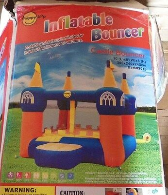 Bouncy Castle 10ftx8ftx8ft With Air Flow Pump