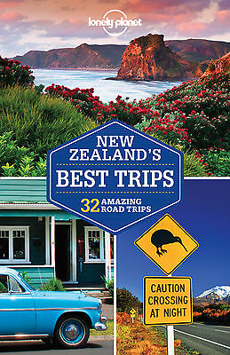 Lonely Planet New Zealand's Best Trips (Travel Guide) NEW 9781786570253