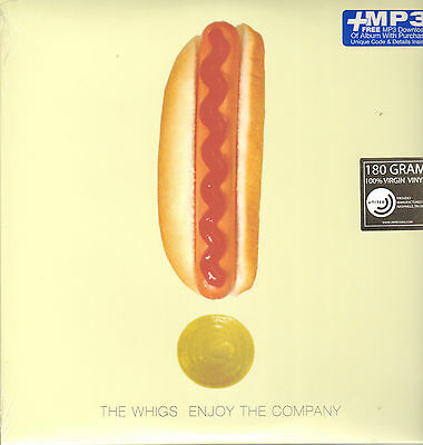 THE WHIGS - Enjoy the Company      LP+download   !!! NEU !!!
