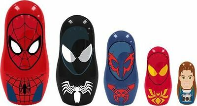 *NEW* Marvel Ultimate Spiderman Nesting Dolls - Babushka Dolls 5 piece set
