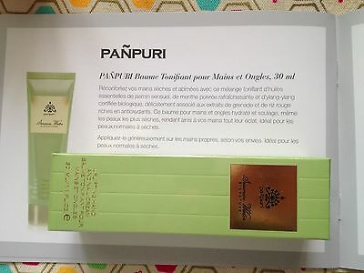 PANPURI : Baume Tonifiant pour Mains et Ongles Siamese Water - Neuf