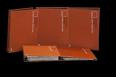 PANTONE Fashion and Home Cotton Color Swatch Files SET OF 5