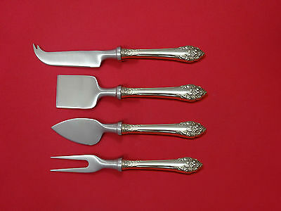 Fragrance by Reed & Barton Sterling Cheese Serving Set 4 Piece HHWS  Custom
