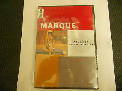 Pilates With Marque - Pilates Foam Roller Dvd- New